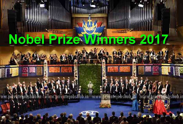 Nobel Prize Winners 2017 Physics, Chemistry, Literature, Peace, Economics