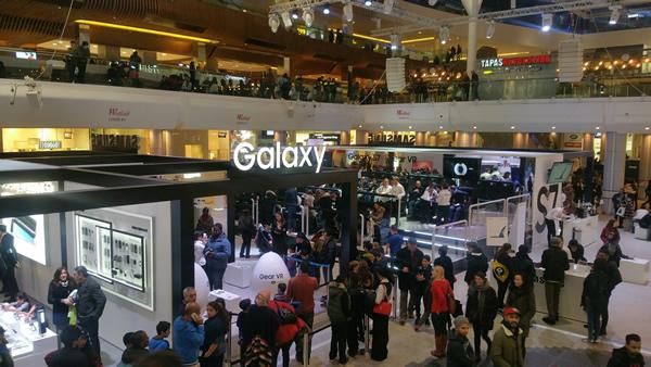 Samsung Galaxy Studio en Barcelona
