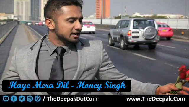 Haye Mera Dil Guitar Tabs Leads, Hindi Punjabi song by YO YO Honey Singh feat ALFAAZ