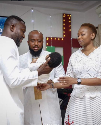 Photos: Rapper Trigmatic and wife name son Eden