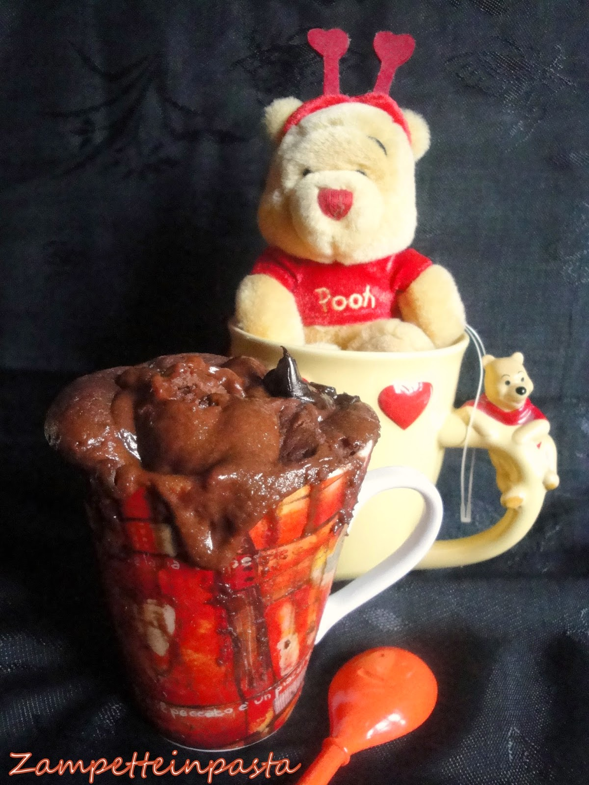 Mug cake al cioccolato e peperoncino - Ricetta veloce San Valentino