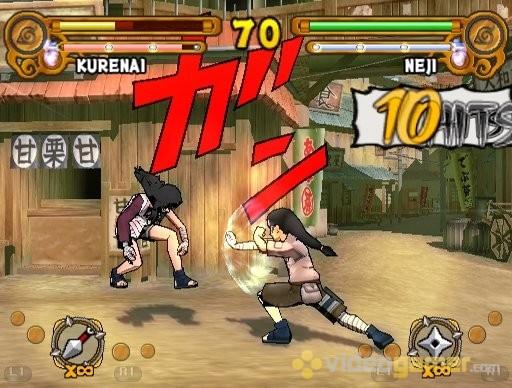 Naruto: Ultimate Ninja 3 PS2 GAME ISO Gameplay 1