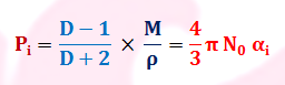 Clausius Mossotti Equation