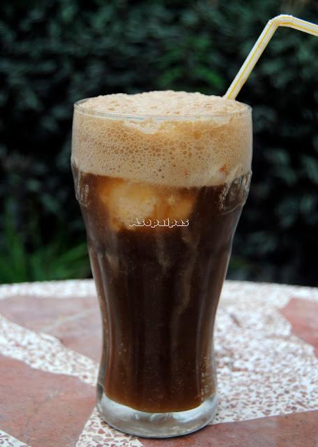Una Coca-Cola con un buen helado casero