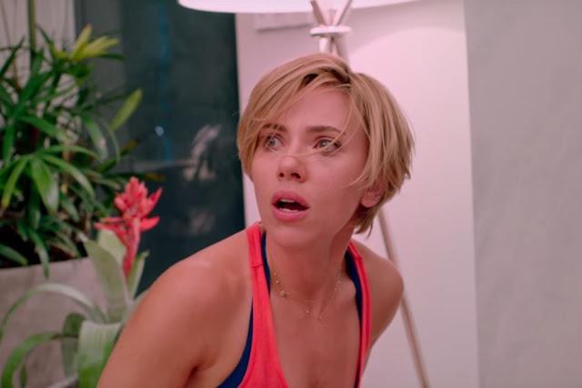 "Jessica ""Jess"" Thayer (Scarlett Johansson) dans Pire soirée de Lucia Aniello (2017)"