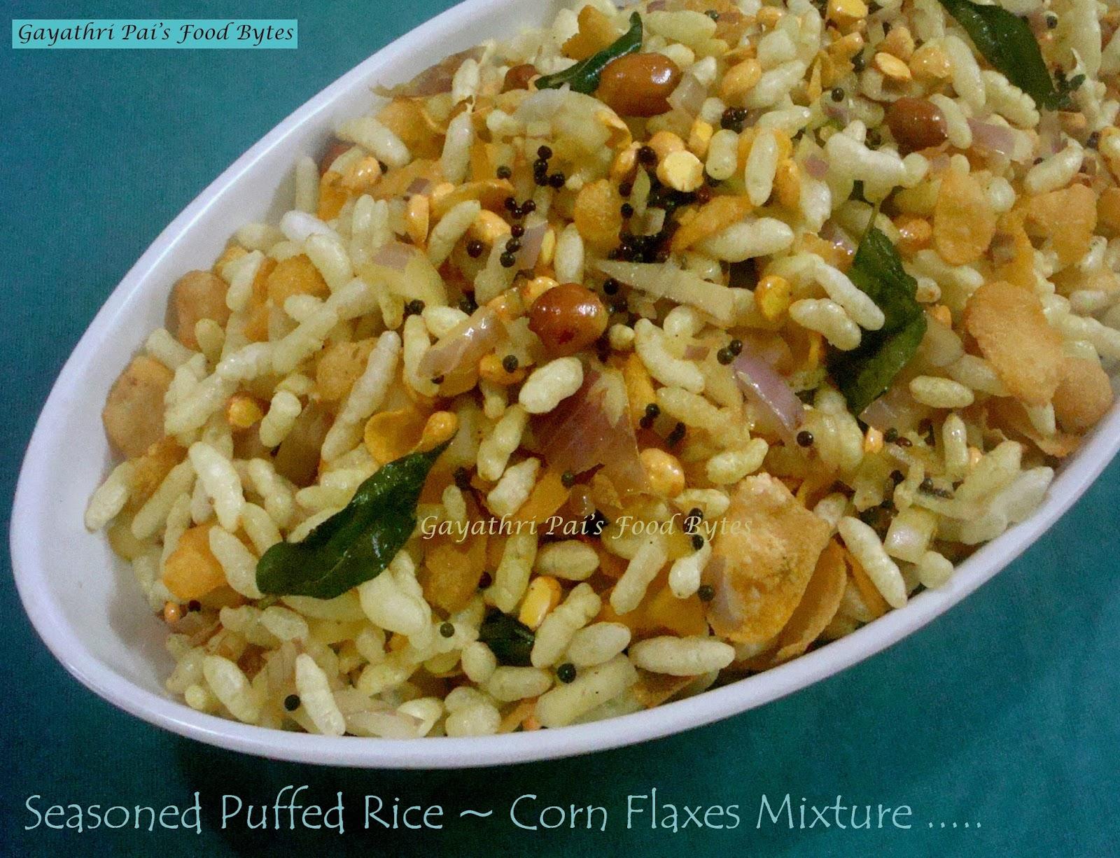 how to make corn flakes mixture