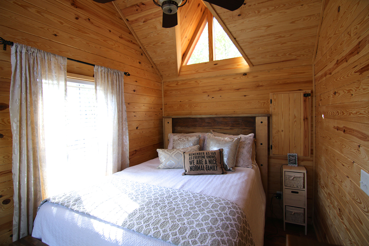 tiny house bedroom tiny house town the chattahoochee from rustic river park 13532