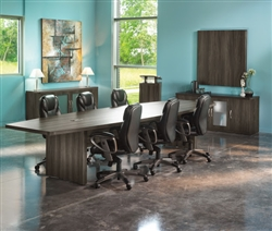 Designer Boardroom Table with Surface Ports