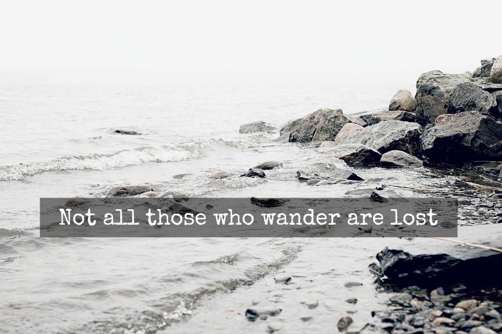 quote, fog, saying, lost, Tolkien, Visualaddict, kruunuvuori, helsinki