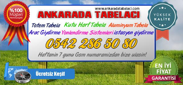 Ankara Kazım Karabekir Tabelacı, Tabela Firması