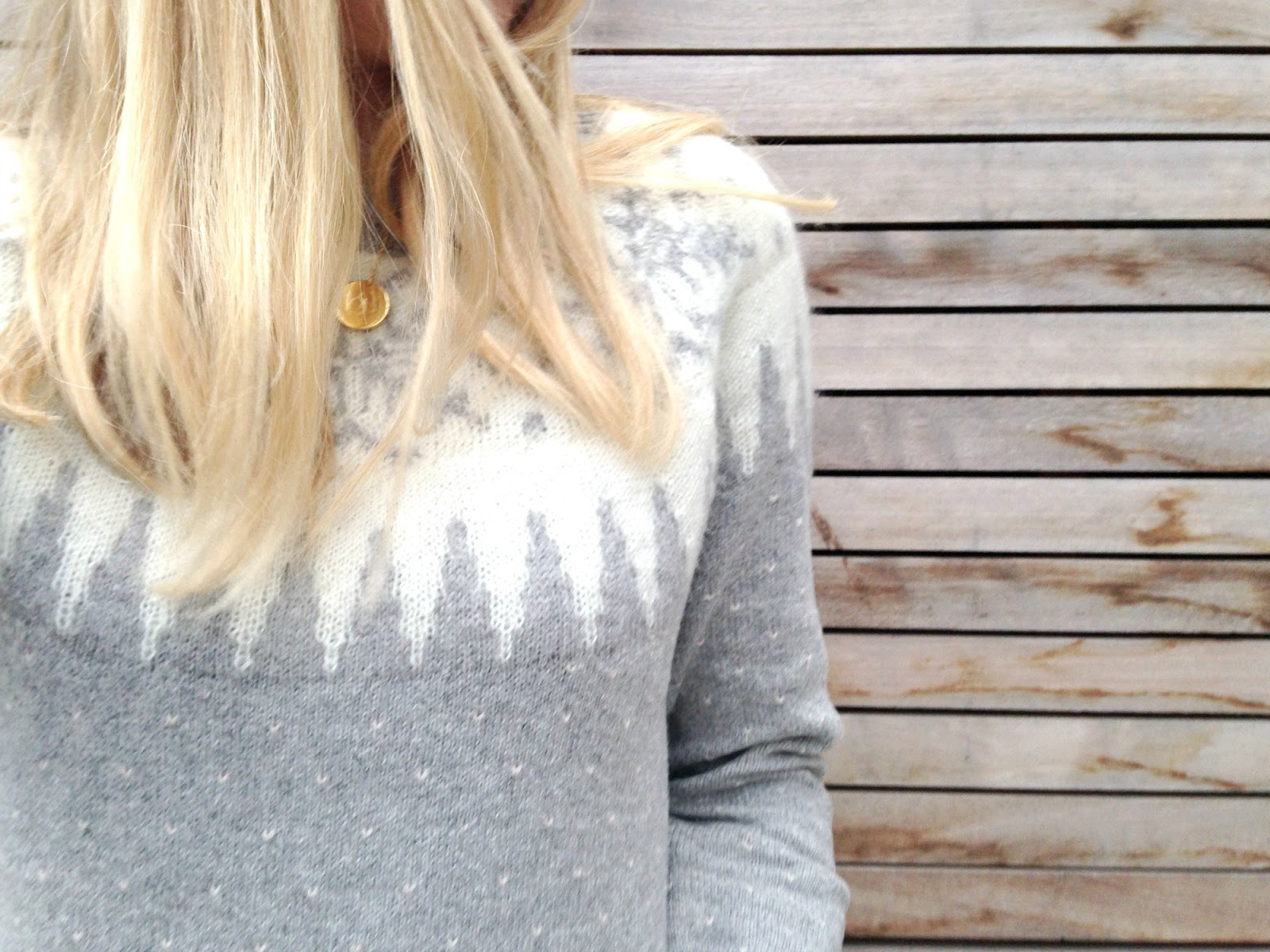 Fairisle Yoke jumper fat face