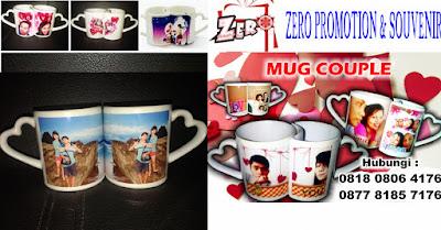 Jual Mug Couple, Mug Pasangan Murah. Mug cinta, Mug souvenir, Mug Couple Love bermotif 1 set terdapat 2 mug dalam 1 kemasan