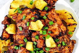 WOW TRY THIS Grilled Pineapple Chicken (Paleo + Whole30)