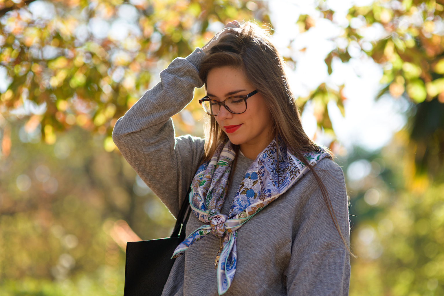 look tuileries automne