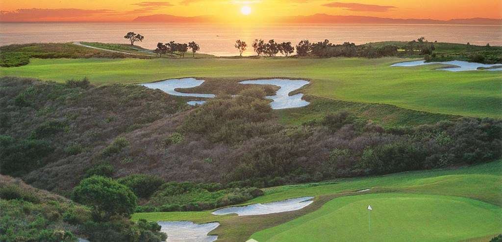 Pelican Hill Golf Club in Newport Beach, SoCal