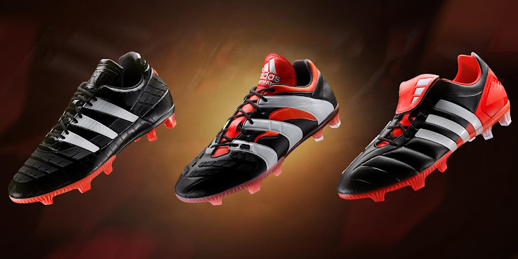 best service 47bf6 ee7a7 In 2014, Adidas re-introduced the designs of the 1994 Predator, 1998  Predator Accelerator and the 2002 Predator Mania in August 2014.