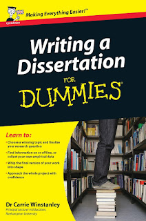 Writing a Dissertation For Dummies by Winstanley & Carrie