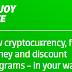 """Enjoy Life""  Kemudahan Dalam Menggunakan Mata Uang Kripto dan Fiat"