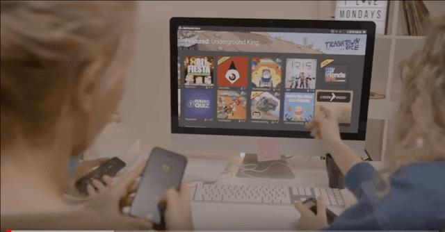 ιστοσελίδα με παιχνίδια κινητό χειριστήριο