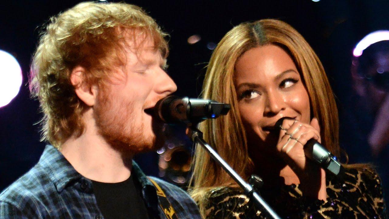 É a mesma-música-do-Ed-Sheeran-sofrendo de sempre, com a diferença de que tem a incomparável participação de Beyoncé.