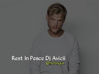 Rest in Peace Avicii