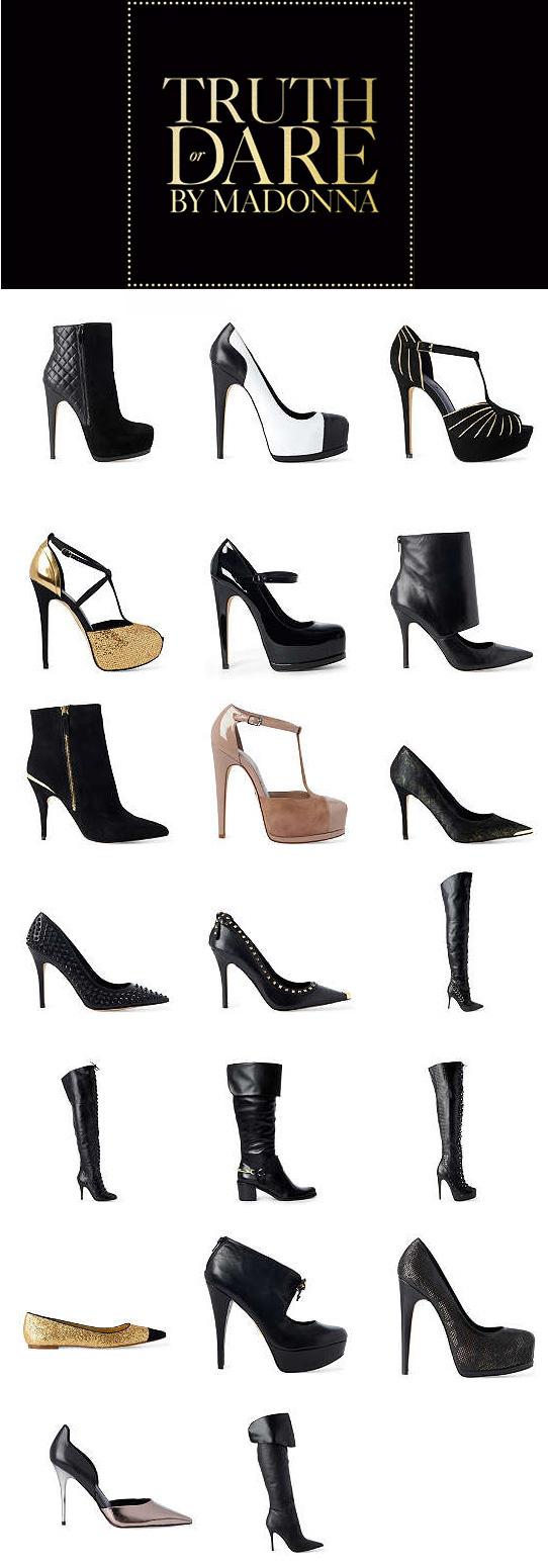 Conheça a linha de sapatos da Madonna