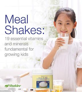 Meal Shakes membantu merawat masalah Resdung kanak-kanak