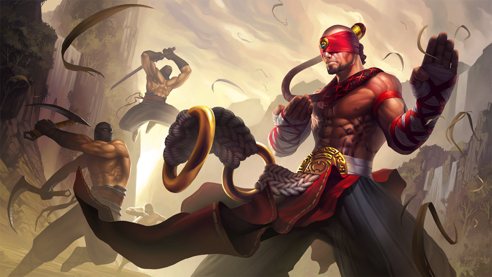 Lee Sin League of Legends 3f Wallpaper HD