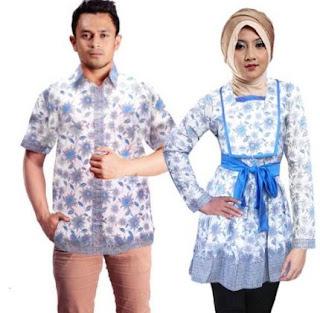 Baju batik couple anak muda dan remaja terbaru