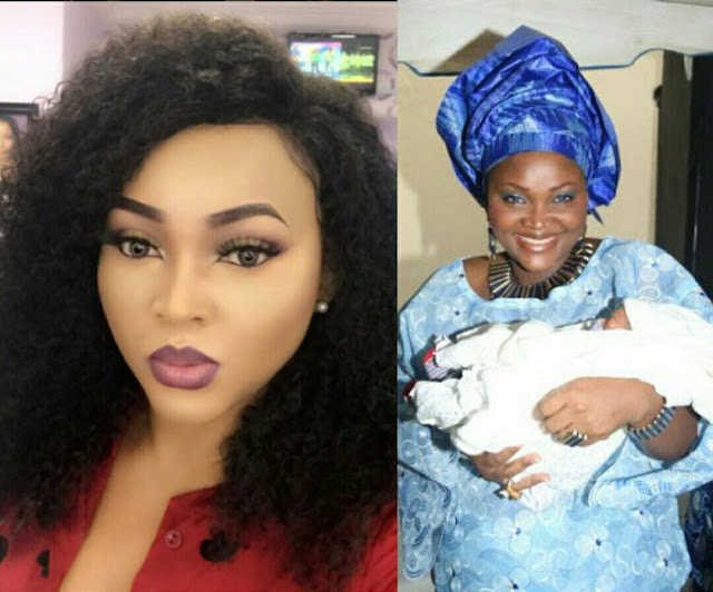 Fan Gets Too Curious About Mercy Aigbe's Bleaching Secret