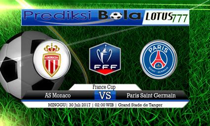 Prediksi Pertandingan antara Monaco vs Paris Saint Germain Tanggal 30 Juli 2017