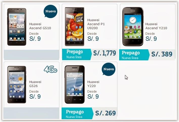 3dc781e27618b ... los nuevos modelos Huawei Ascend G510 y Huawei Y220. Hemos preparado  una infografía de los equipos Huawei agregando sus precios en modalidad  prepago.