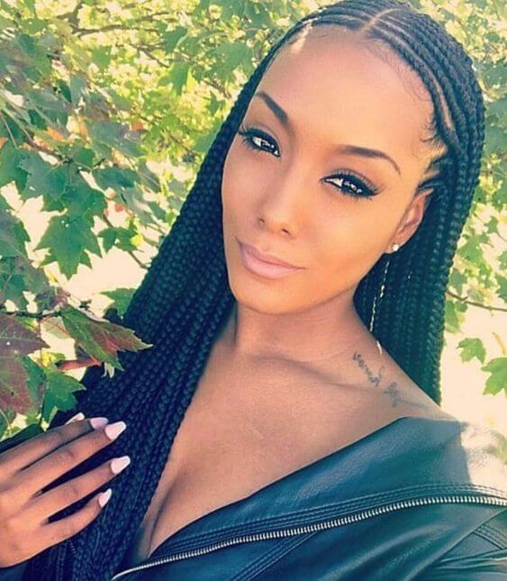 31+ Trendy Cornrows Braids Hairstyles For Black Women To ...