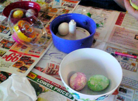 how to use Dudley Spin an Egg spinner decorating kit make your own dye