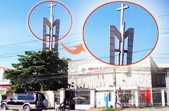 Tháp chuông không thể phá hủy tại trường Đại học Luật TPHCM