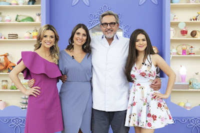 Beca, Carol, Fasano e Maisa Silva. Crédito: Artur Igrecias/SBT