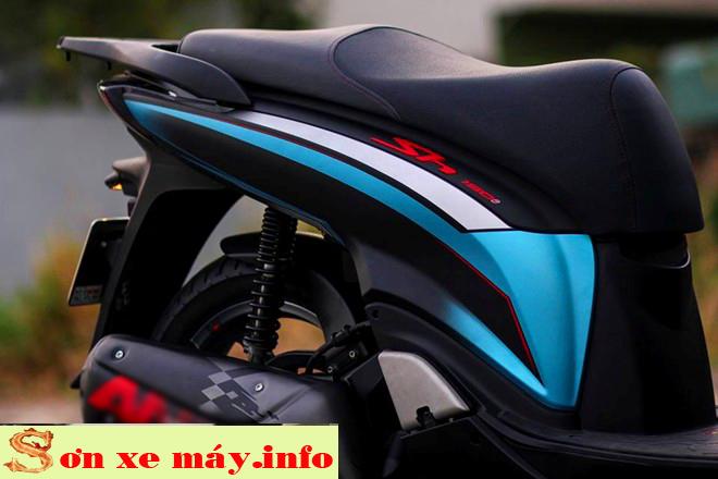 Sơn phối màu xe Honda Sh Sport