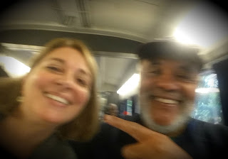 Train Selfie with Zaid | Navigating Hectivity by Micki Bare