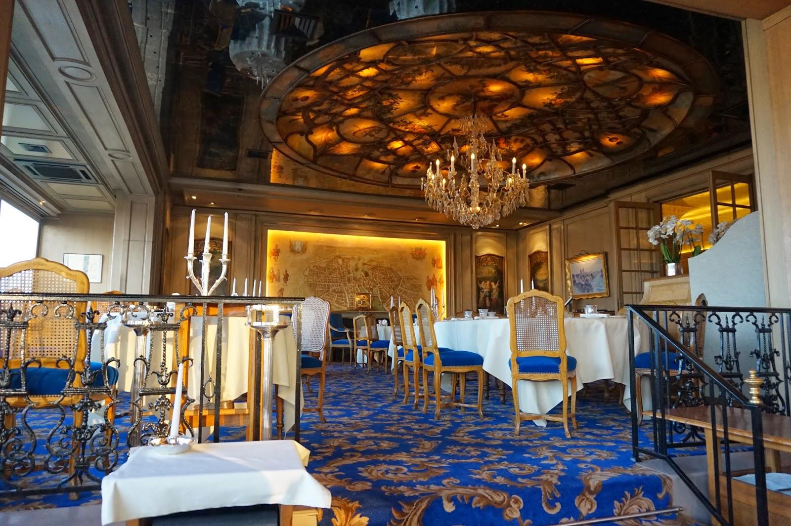Painting Dining Room Review Of La Tour D Argent Restaurant In Paris France