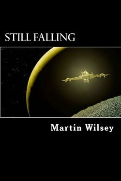 martin wilsey, deep space survey ship, still falling book, solstice trilogy