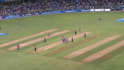 Highest total, chase, score and other stats of Wankhede stadium, Mumbai.