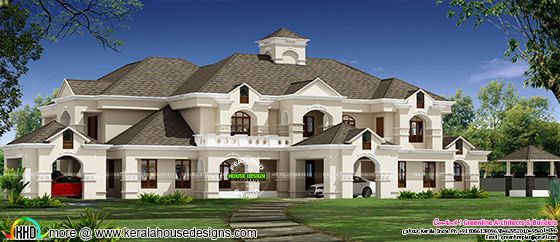 Luxury Colonial model house