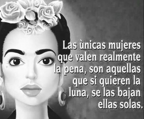 In Genias Mza Las Frases De Frida Kahlo Que Todo El Mundo