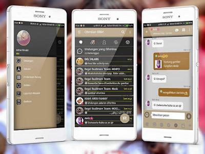 Download BBM Mod Aksara Versi 3.2.5.12 Apk Terbaru Android