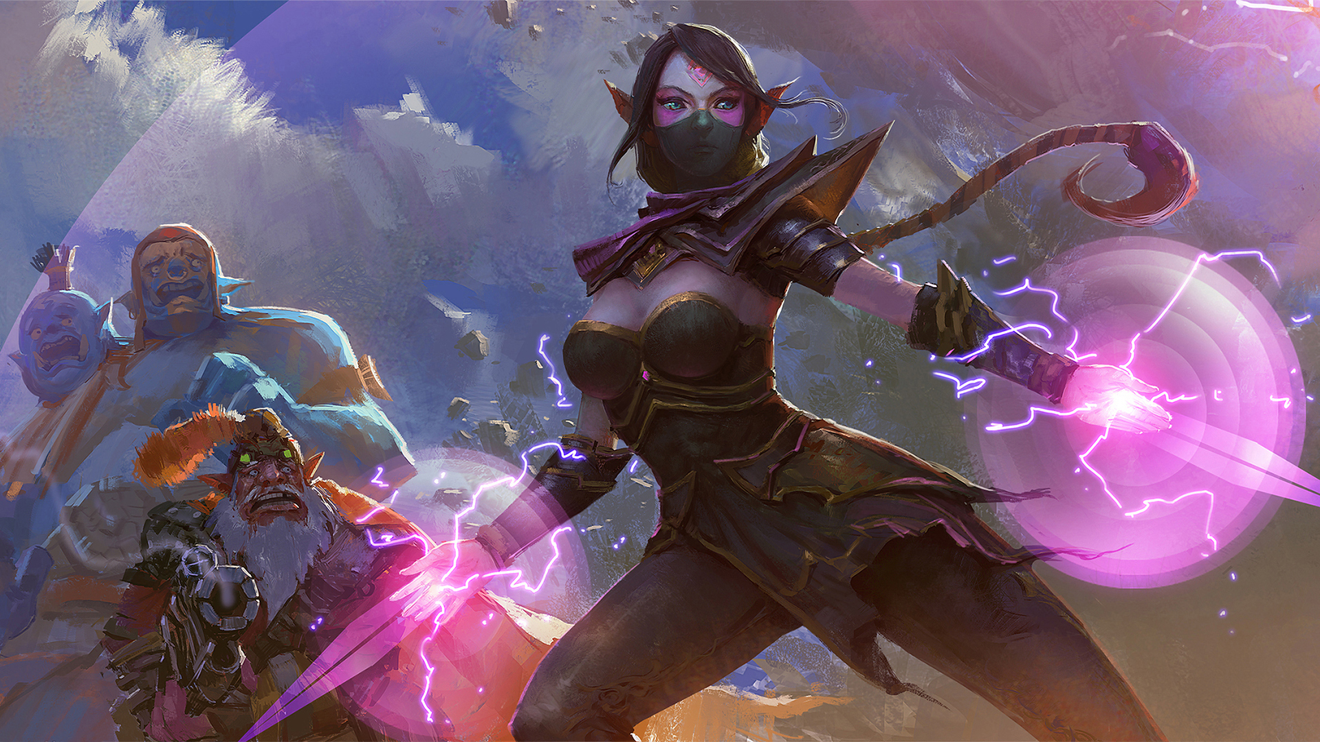 Lanaya the Templar Assassin 87 Wallpaper HD