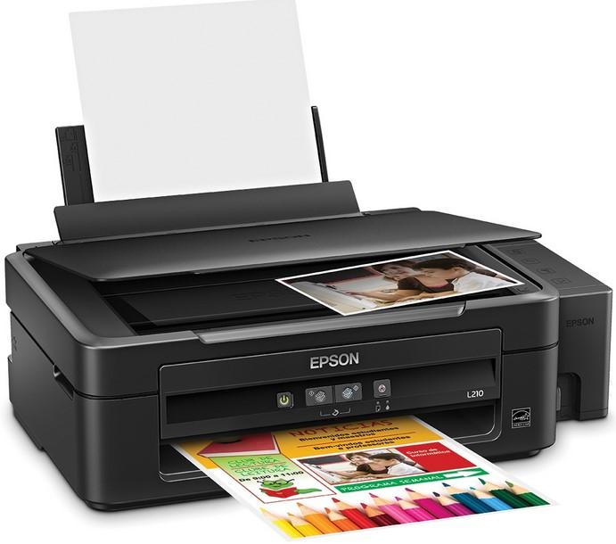 Epson L210 Printer Print Scan Copy Printer Drivers
