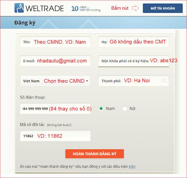 Mo-tai-khoan-weltrade, Weltrade, hướng dẫn mở tài khoản sàn weltrade-4