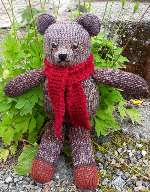 Teddy Bear Stripes - Free Pattern