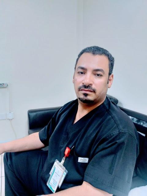 نعي مؤثر للممرض خالد الحسيني بعد وفاته بفيروس كورونا