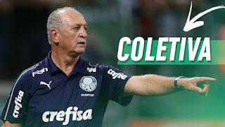 Coletiva do Técnico Felipão Após o jogo - PALMEIRAS X SÃO PAULO - PAULISTA 2019